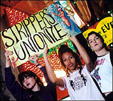 Strippers Unionized!